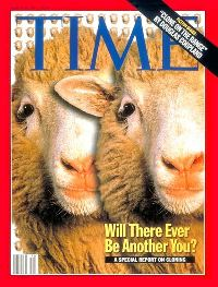 Dolly the Sheep on TIME cover