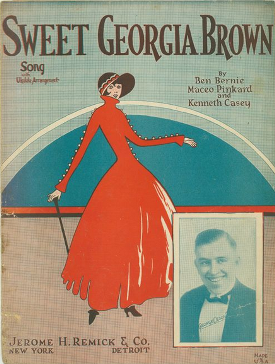 sweet georgia brown songbook