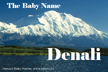 baby name denali