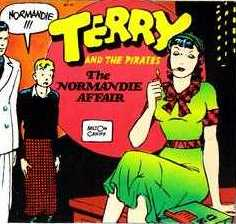 Normandie from Terry and the Pirates (comic strip)
