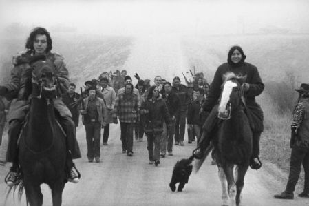 Wounded Knee Incident, March, 1973